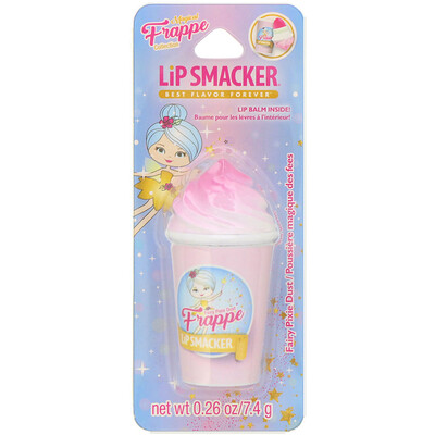 Купить Lip Smacker Бальзам для губ Frappe Cup, Fairy Pixie Dust, 7, 4г