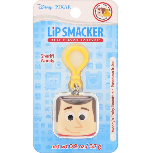 Lip Smacker, Bálsamo para labios Pixar, en forma de cubo, del Sheriff Woody, sabor frutal, 5,7g (0,2oz) (Discontinued Item)