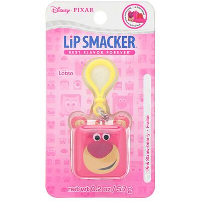 Купить Lip Smacker Бальзам для губ в кубике Pixar, Lotso, клубничный, 5, 7г