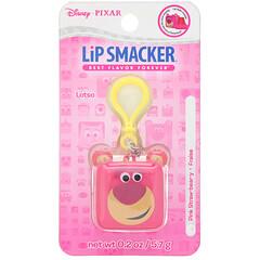 Lip Smacker, 皮克斯方塊潤唇膏,抱抱熊,粉熊草莓,0.2 盎司(5.7 克)