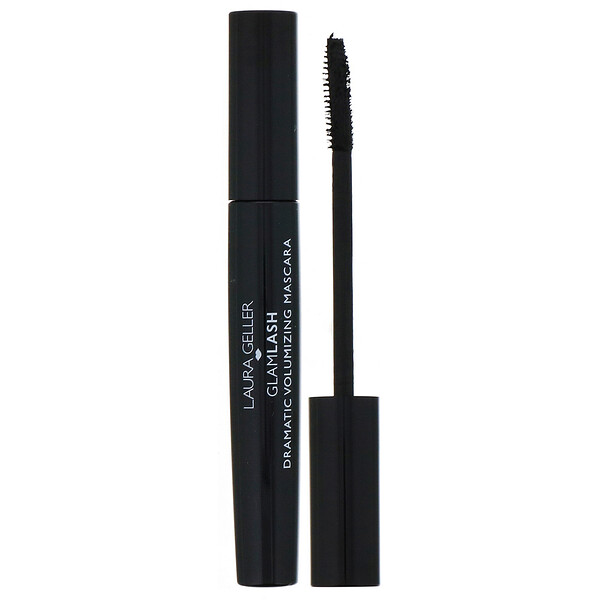 GlamLash, Dramatic Volumizing Mascara, Black, 0.33 fl oz (10 ml)