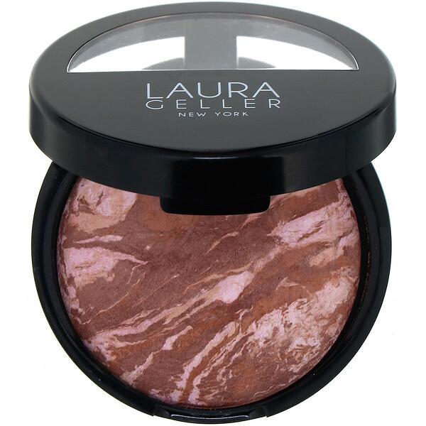 Laura Geller, Baked Bronze-N-Brighten, Fair, 0.32 oz (9 g) (Discontinued Item)
