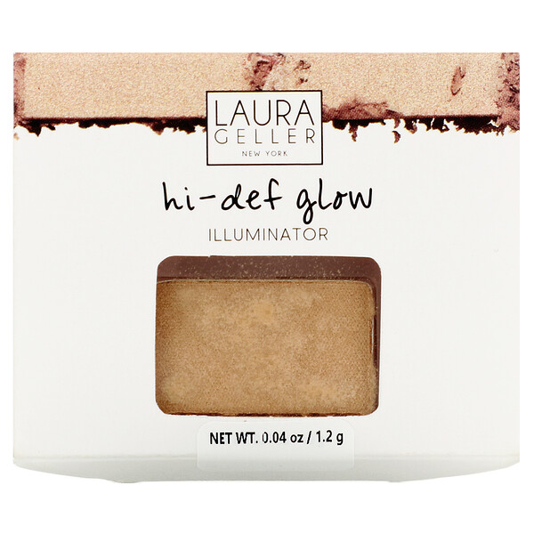Laura Geller, Hi-Def Glow, Illuminator, Heart of Gold Shimmer,  0.04 oz (1.2 g) (Discontinued Item)