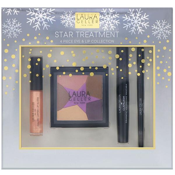 Laura Geller, Star Treatment, 4 Piece Eye & Lip Collection (Discontinued Item)