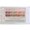 Laura Geller, Nude Attitude, Multi-Finish Eyeshadow Palette, 12 Eyeshadows
