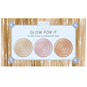 Laura Geller, Glow For It, Hi-Def Glow Illuminator Trio, 0.04 oz (1.2 g) Each отзывы