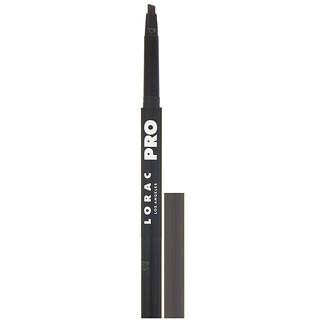 Lorac, Pro Precision Brow Pencil, Dark Cool Brown, 0.005 oz (0.16 g)