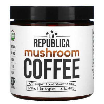 Купить LA Republica Mushroom Coffee, 2.12 oz (60 g)
