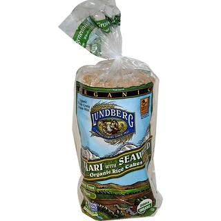 Lundberg, Tamari with Seaweed Organic Rice Cakes, 8.5 oz (241 g)