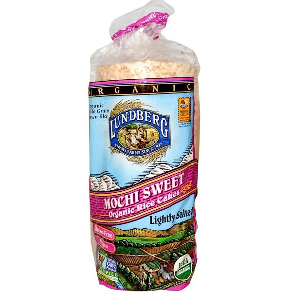 Lundberg, Organic Rice Cakes, Mochi Sweet, 8.5 oz (241 g) (Discontinued Item)