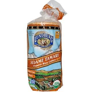 Lundberg, Organic Rice Cakes, Sesame Tamari, 9 oz (255 g)
