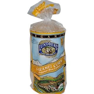 Lundberg, Caramel Corn Organic Rice Cakes, 9.4 oz (267 g)