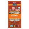 Lundberg, Organic Thin Stackers, Puffed Grain Cakes, 5 Grain, Salt-Free, 24 Rice Cakes, 6 oz (168 g)