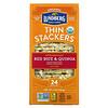 Lundberg, Thin Stackers, Red Rice & Quinoa, Salt-Free, 24 Rice Cakes