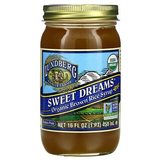 Lundberg, Sweet Dreams,有机糙米糖浆,16 液量盎司(450 毫升)