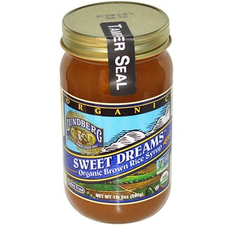 Lundberg, Sweet Dreams, Organic Brown Rice Syrup, 1 lb 5 oz (595 g)
