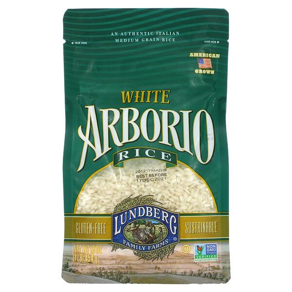 White Arborio Rice, 16 oz (454 g)