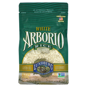 Lundberg, White Arborio Rice, 16 oz (454 g)