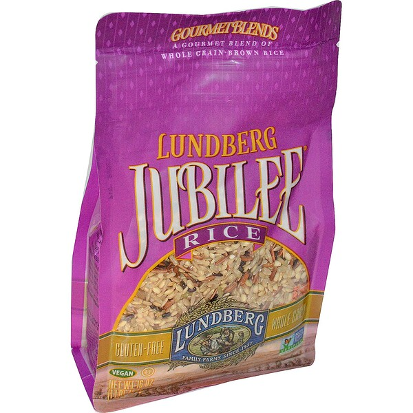 Lundberg, Jubilee Rice, 16 oz (454 g) (Discontinued Item)