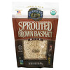 Lundberg, Sprouted Brown Basmati Rice, 16 oz (454 g)