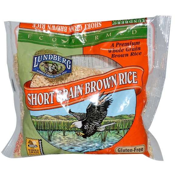Lundberg, Short Grain Brown Rice, 16 oz (454 g) (Discontinued Item)