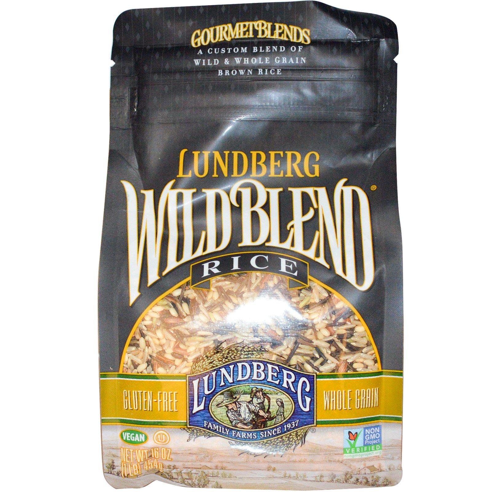 Lundberg Gourmet Blends Wild Blend Rice 16 Oz 454 G Iherb