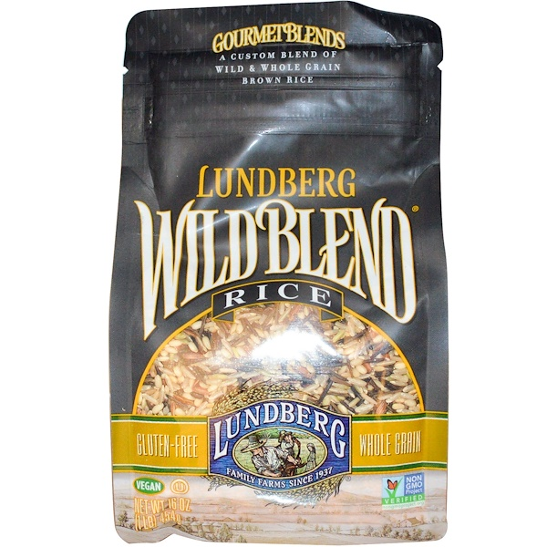 Lundberg, Gourmet Blends, Wild Blend Rice, 16 oz (454 g)