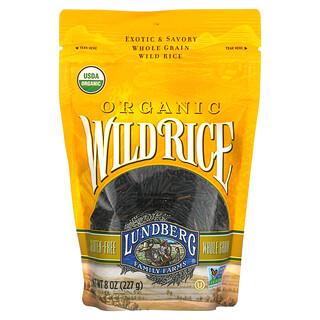 Lundberg, Organic Wild Rice, 8 oz (227 g)