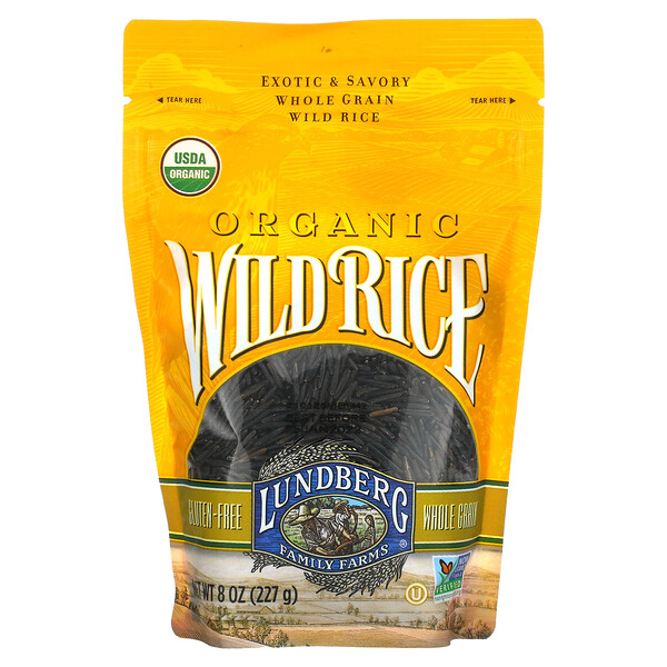 Organic Wild Rice, 8 oz (227 g)