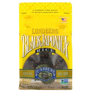 Lundberg, Черный японский рис, 16 унций (454 г)