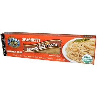 Lundberg, Organic, Brown Rice Pasta, Spaghetti, 10 oz (284 g)
