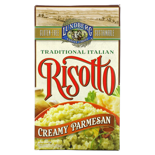 Traditional Italian Risotto, Creamy Parmesan, 5.5 oz (156 g)
