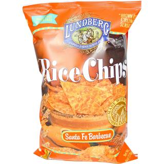 Lundberg, Rice Chips, Santa Fe Barbecue, 6 oz (170 g)