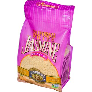 Lundberg, California White Jasmine Rice, 32 oz (907 g)