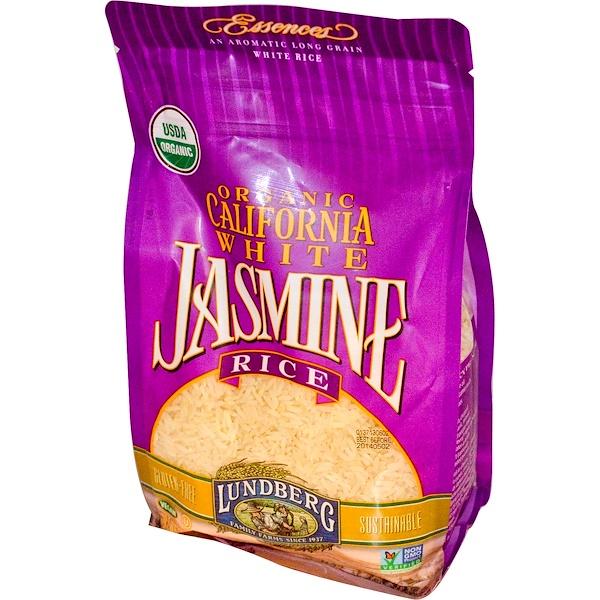 Lundberg, Organic, California White Jasmine Rice, 32 oz (907 g)