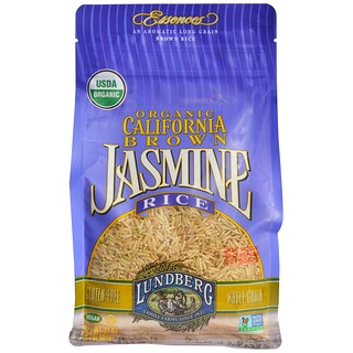 Lundberg, Organic California Brown Jasmine Rice, 2 lbs (907 g)