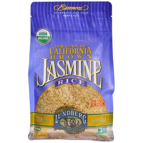 Lundberg, Organic California Brown Jasmine Rice, 2 lbs (907 g) (Discontinued Item)