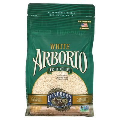 Купить Lundberg White Arborio Rice, Gluten Free, 32 oz (907 g)