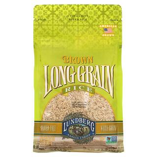 Lundberg, Коричневый длиннозерный рис, 32 унции (907 г)