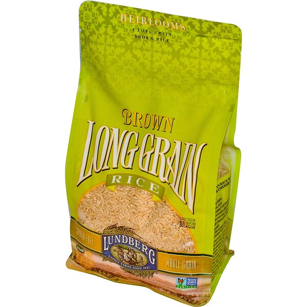 Lundberg, Brown Long Grain Rice, 32 oz (907 g) (Discontinued Item)