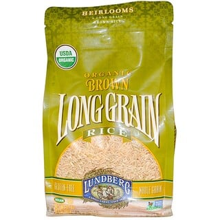 Lundberg, Organic, Brown Long Grain Rice, 32 oz (907 g)
