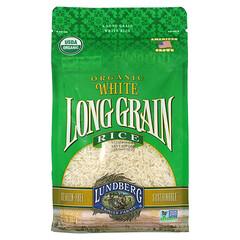 Lundberg, 有機長粒白米,2 磅(907 克)