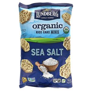 Lundberg, Organic Rice Cake Minis, Sea Salt, 5 oz (142 g)