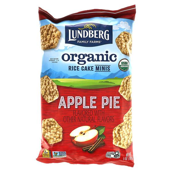 Lundberg, Organic Rice Cake Minis, Apple Pie, 5 oz (142 g)