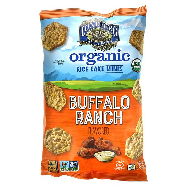 Organic Rice Cake Minis, Buffalo Ranch, 5 oz (142 g)