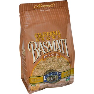 Lundberg, Arroz integral Basmati de California, 32 oz (907 g)