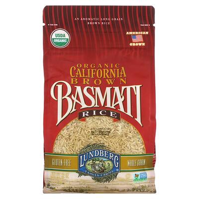 Купить Lundberg Organic California Brown Basmati Rice, 2 lb (907 g)