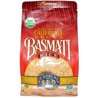Lundberg, Essences, Organic, California Brown Basmati Rice, 32 oz (907 g)
