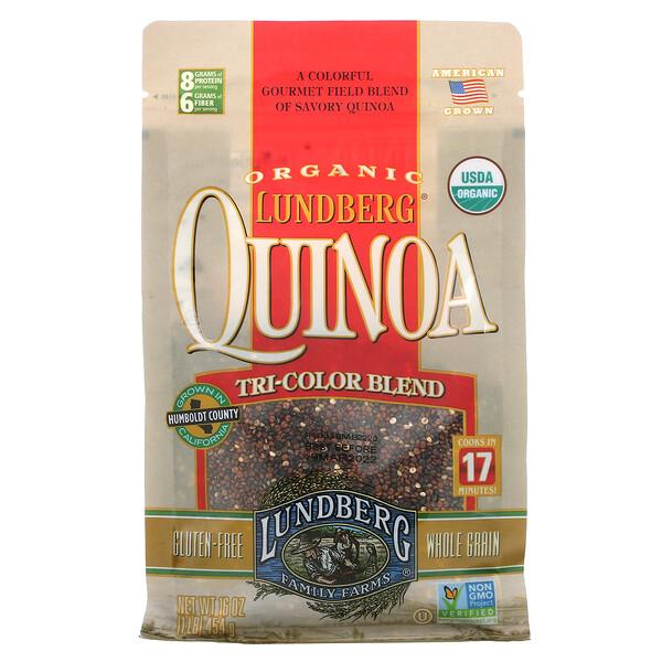 Organic Quinoa, Tri-Color Blend, 16 oz (454 g)