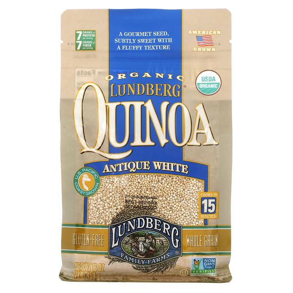 Organic Quinoa, Antique White, 16 oz (454 g)